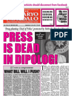 Dyaryo Magdalo (Sept 12-18, 2011 issue)