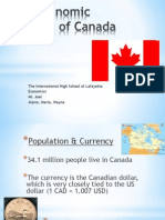 Economic Report of Canada-Model