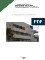 RELATÓRIO DE ATIVIDADES DA CASA PLÁCIDO