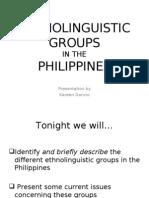 Ethnolinguistic Groups Presentatio