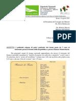 I Poliziotti esigono di poter usufruire dei buoni pasto da 7 euro al ristorante presso il Senato della Repubblica o presso Palazzo Montecitorio