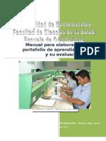 Manual para elaborar el portafolio de aprendizaje y su evaluación copia