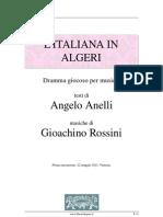 L'Italiana in Algeri Libretto)