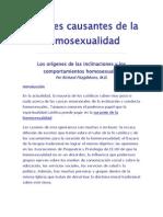 Factores Causantes de La Homosexual Id Ad