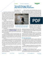 YSI - Managing Influx of Water Quality Data for Healthy Headwaters