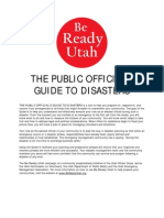 Be Ready Utah Public Officials Guide To Disasters