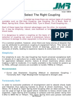How to Select the Right Coupling