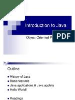 01 Java Intro