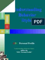 Behavioural Styles