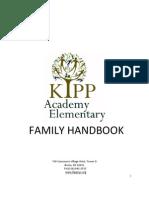 KIPP AES 2011-2012 Family Handbook