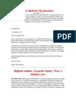 The+Balfour+Declaration