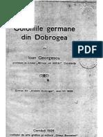 Coloniile Germane Din Dobrogea