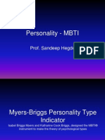 OB Session 4 - Personality - MBTI