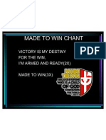 Made to Win Chant