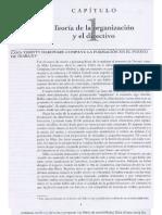 Capitulo 1 -  Hodge Teoría de la organización y el directivo