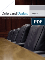Drillers and Dealers September 2011