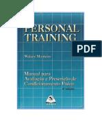 PERSONAL TRAINING - MANUAL PARA AVALIAÇÃO E PRESCRIÇÃO DE CONDICIONAMENTO FÍSICO - Walace Monteiro - LIVRO