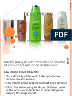 Shampoo Pricing