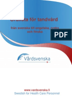 Swedish Dental Health Glossary