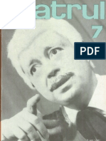 Revista Teatrul, nr. 7, anul XIV, iulie 1969