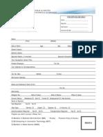 Admission Form Undergraduate SZABIST