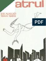 Revista Teatrul, nr. 8, anul XIV, august 1969