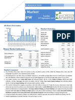 13th Sep '11 Asia Market Report
