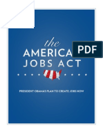 The American Jobs Act (Full Text from the White House)