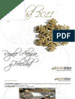 Catálogo cestas y Lotes Navidad 2011