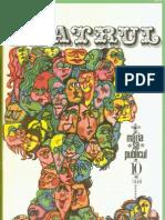 Revista Teatrul, nr. 10, anul XIV, octombrie, 1969