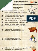 Newsletter Checkliste