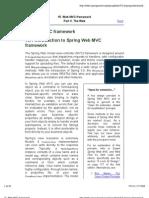 Spring Source Web MVC Framework CH15