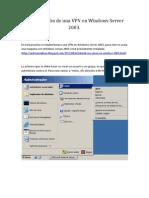 Configuración de una VPN en Windows Server 2003
