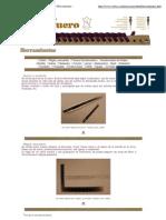 Recursos didácticos en PIEL Y CUERO ···Las Herramientas···