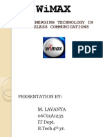 Wimax Lavs Power Pt