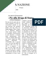 No alla droga di stato