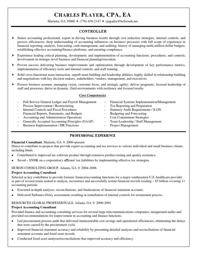 financial controller finance director in caribbean resume