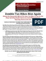 Zombie Tax Hikes Rise Again