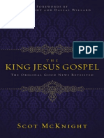 The King Jesus Gospel by Scot McKnight, Excerpt