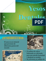 Yesos Dentales Version Corta