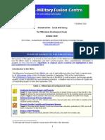 Millennium Development Goals & Afghanistan