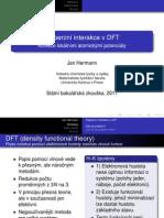 Disperzní interakce v DFT