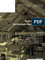 EDUCATE Framework for Curriculum Development