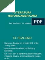 LIt.hisp. Del Realismo Al Modernismo