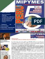 Progra v Cumbre Internacional Mipymes 14 y 15 Set 2011 Lima Peru Set 2011