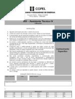 C053 - Prova Assistente Tecnico IV_Edificações_Usina Foz do Areia