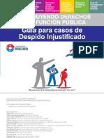 Guía para casos de Despido Injustificado - SECRETARIA DE LA FUNCION PUBLICA - PRESIDENCIA DE LA REPUBLICA DEL PARAGUAY - PortalGuarani
