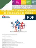 Guía para el Contrato Colectivo de Condiciones de Trabajo - SECRETARIA DE LA FUNCION PUBLICA - PRESIDENCIA DE LA REPUBLICA DEL PARAGUAY - PortalGuarani