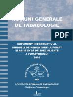 Notiuni Generale Tabacologie Supliment GREFA