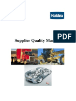 Haldex Supplier Quality Manual
